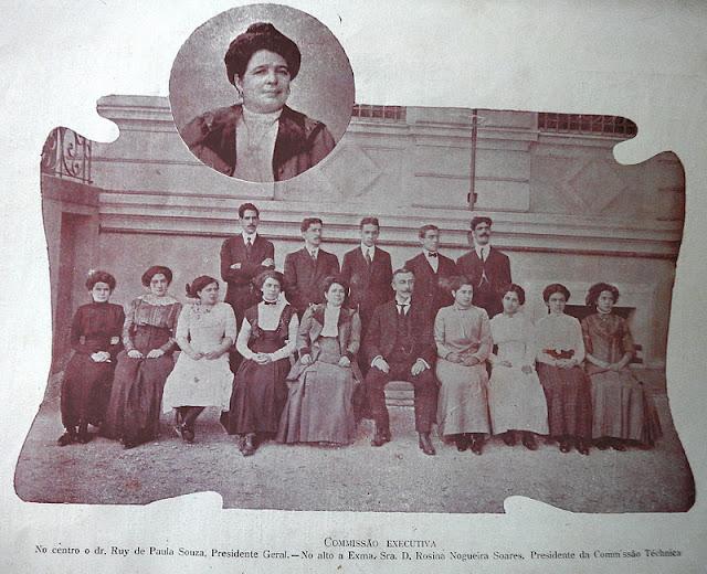 1909 a bandeira comissão executiva