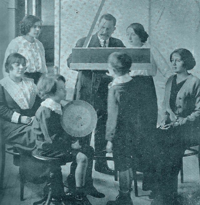 1914 professor Cardim exper sensorial