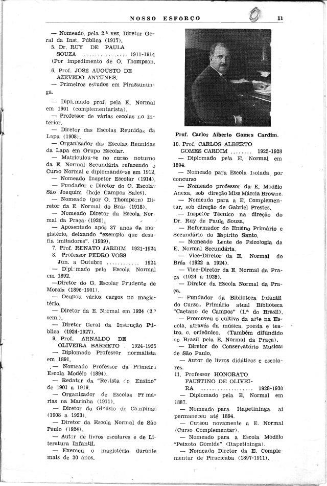 1967 Nosso esfôrçon P 11