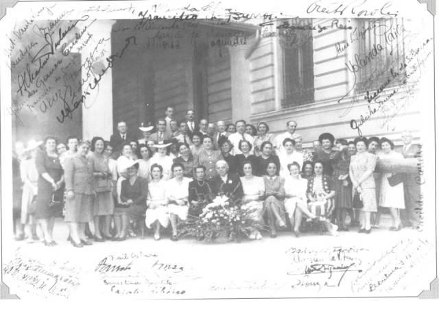1955 Professoras, Professores e Direção_década de 1950