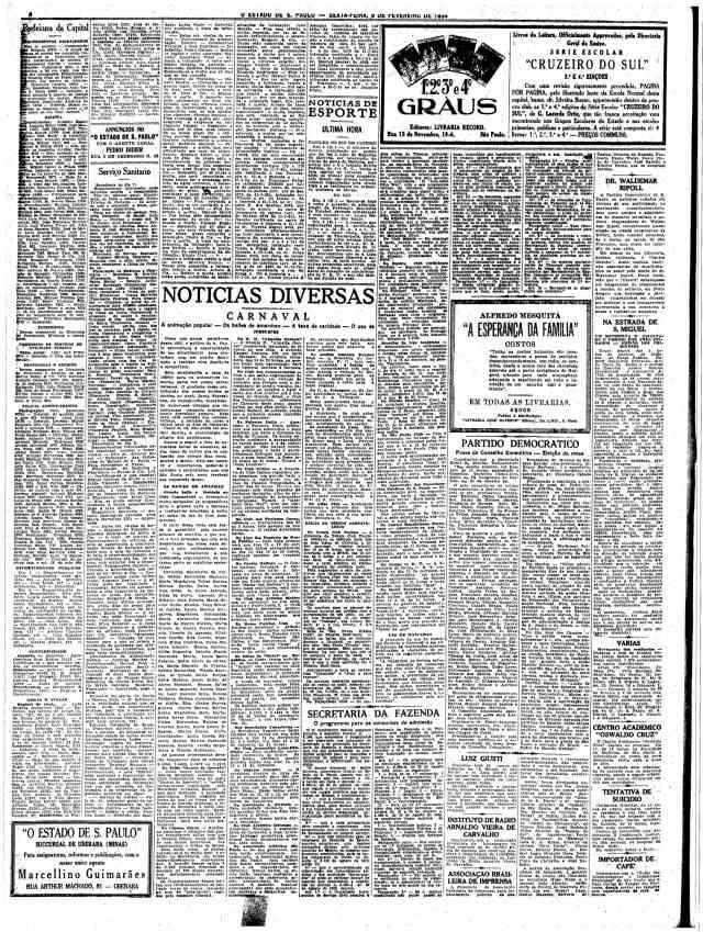fevereiro 1934