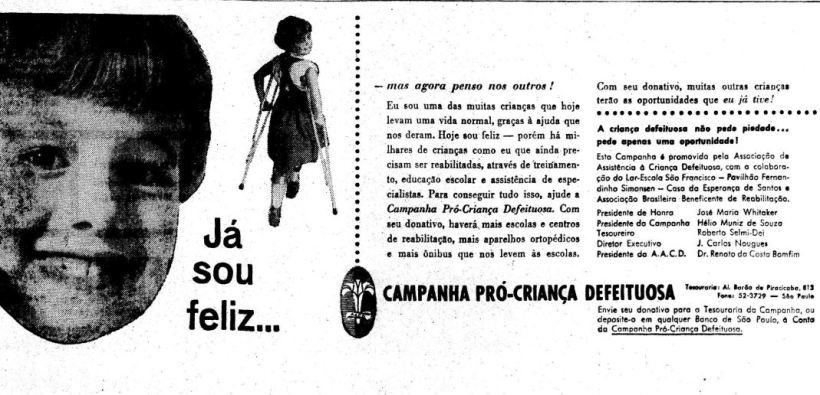 """Résultat de recherche d'images pour """"campanha pro criança defeituosa"""""""